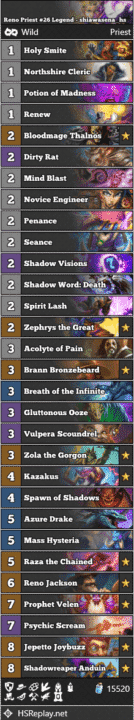 Reno Priest #26 Legend - shiawasena_hs