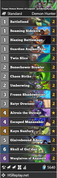 Tempo Demon Hunter #5 Legend - mYiStrikeReaper