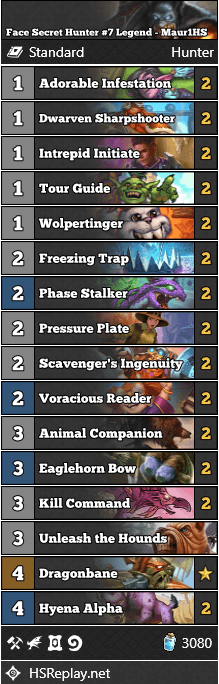 Face Secret Hunter #7 Legend - Maur1HS