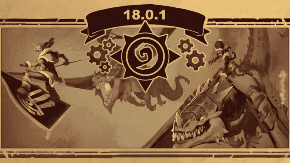 Hearthstone Patch 18.0.1