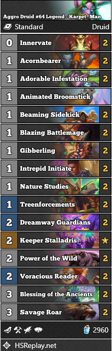 Aggro Druid #64 Legend - Karpet_Man