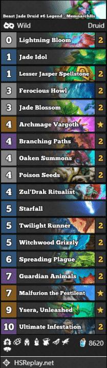 Beast Jade Druid #6 Legend - MemnarchHs