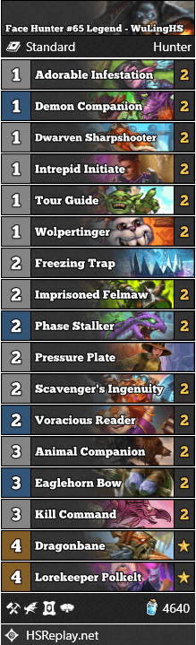 Face Hunter #65 Legend - WuLingHS