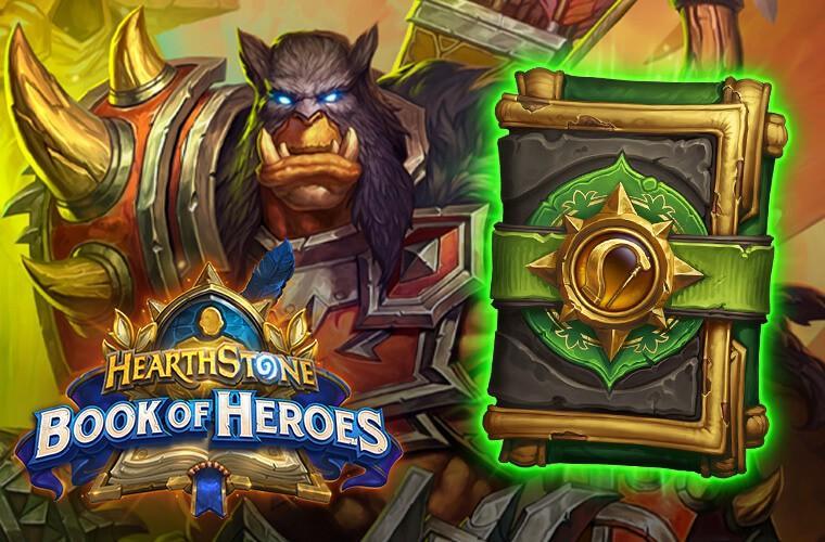 Hearthstone Book of Heroes - Rexxar