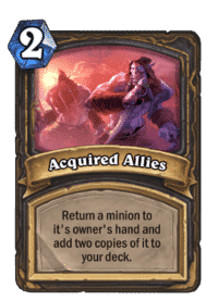 Acquired Allies