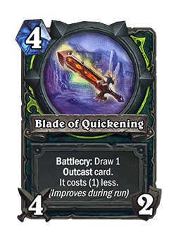Blade of Quickening
