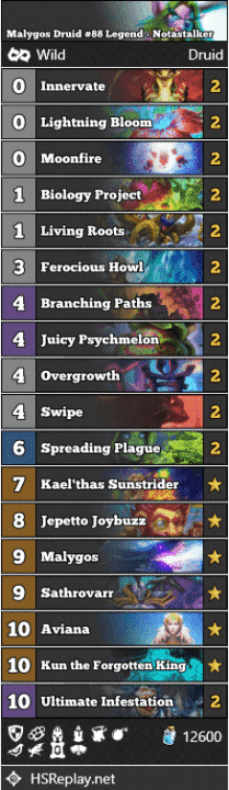 Malygos Druid #88 Legend - Notastalker