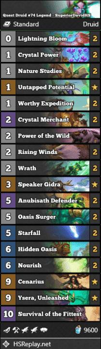 Quest Druid #74 Legend - SuperiorDavidHS