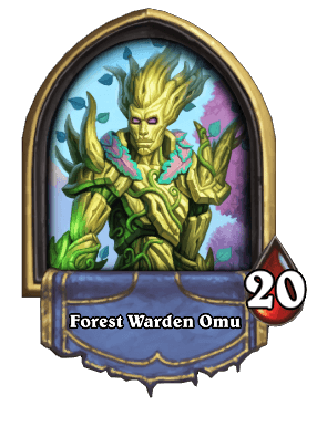 Druid - Forest Warden Omu