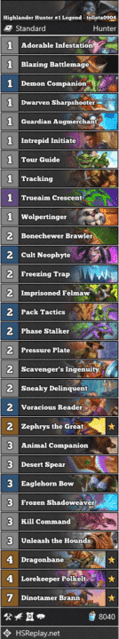 Highlander Hunter #1 Legend - telleta0904