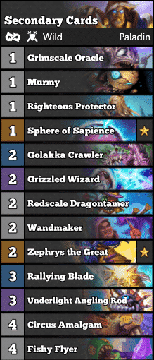 Murloc Paladin - Secondary Cards