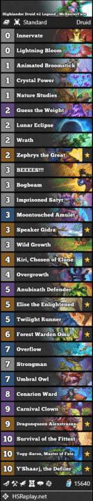 Highlander Druid #2 Legend - McBanterFace
