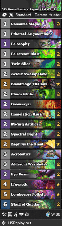 OTK Demon Hunter #1 Legend - RaFaEl__hs
