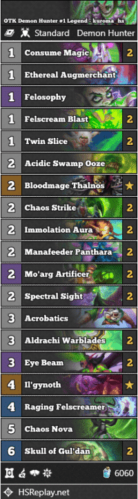 OTK Demon Hunter #1 Legend - kuroma_hs