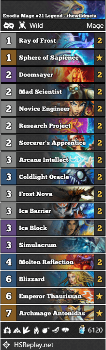 Exodia Mage #21 Legend - thewildmeta