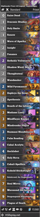 Highlander Priest #10 Legend - bunnyhoppor