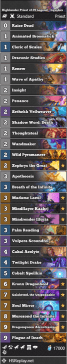 Highlander Priest #139 Legend - liquidox