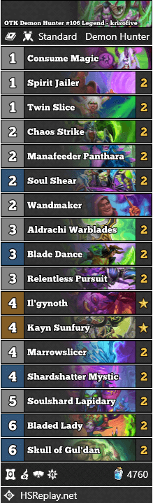 OTK Demon Hunter #106 Legend - krisofive