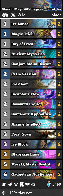 Mozaki Mage #255 Legend - burnt_hs
