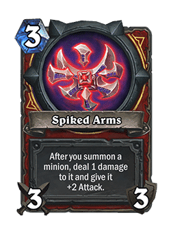 Spiked Arms