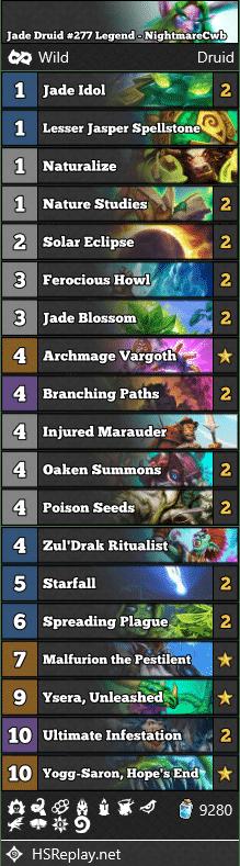 Jade Druid #277 Legend - NightmareCwb