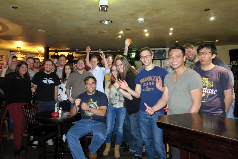 Unser Gruppenfoto - mit allen die ab Turnierstart dabei waren.