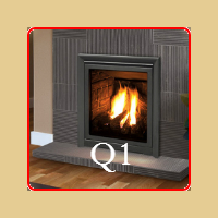 New for 2016 - Q1 Gas Fireplace by Enviro