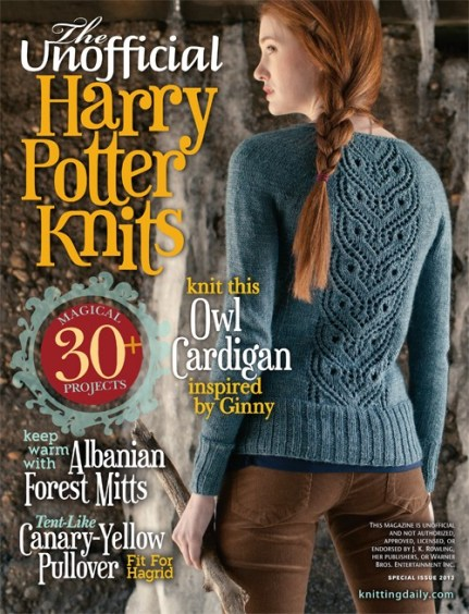 unofficial Harry Potter Knits