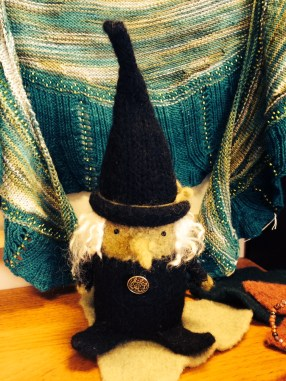 felted witch