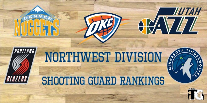 SG Rankings - NW Division