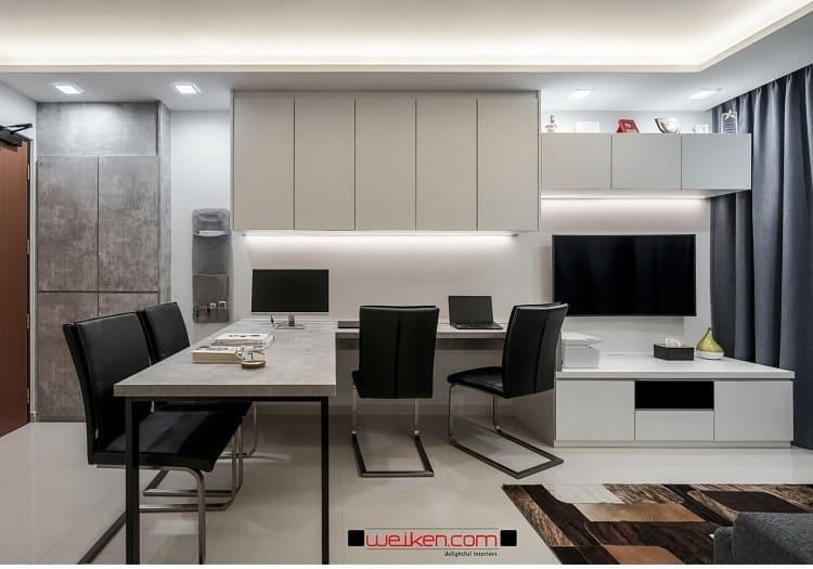 study-dining-tv-console-area
