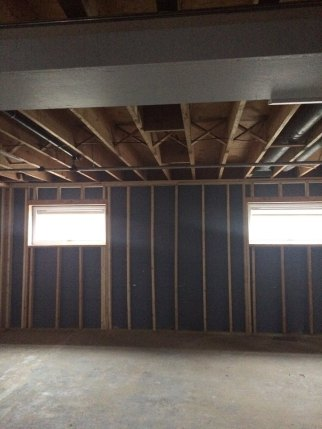 drywall over block walls