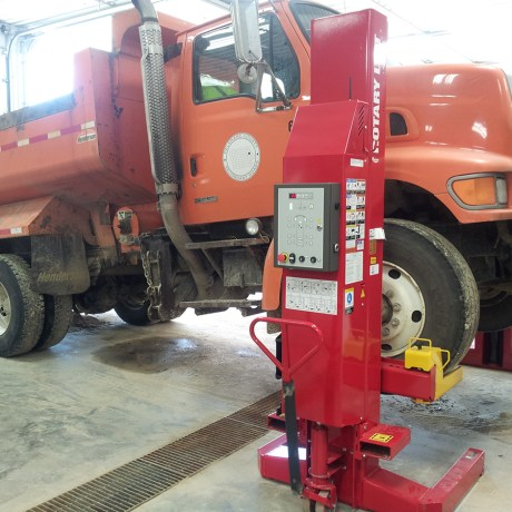 Rotary Portable Heavy Duty Lift