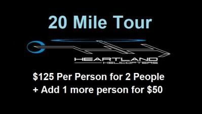 20 Mile Tour Badge B