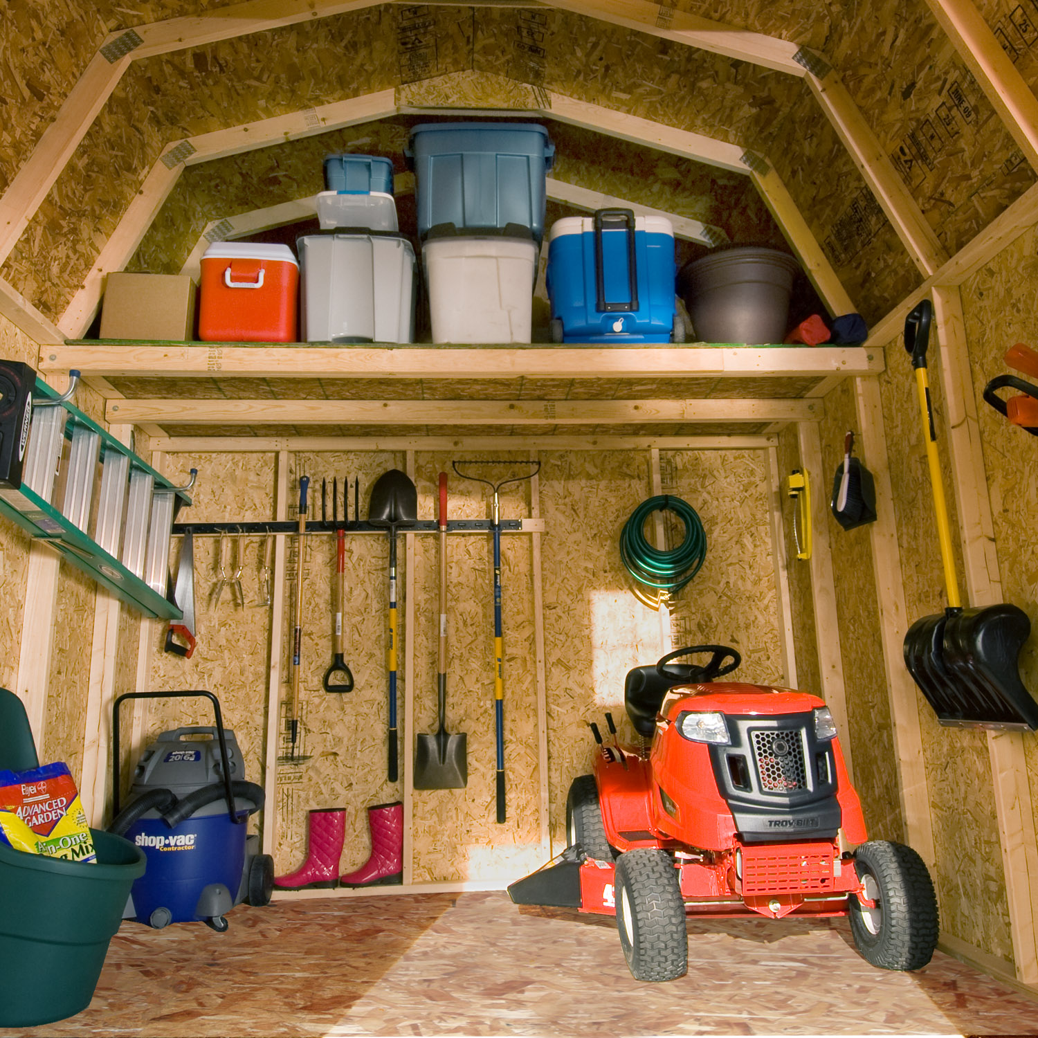 Backyard Tool Shed