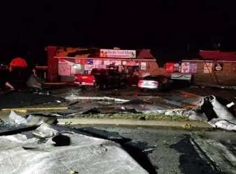 tornado damage December 1 2018 Taylorville