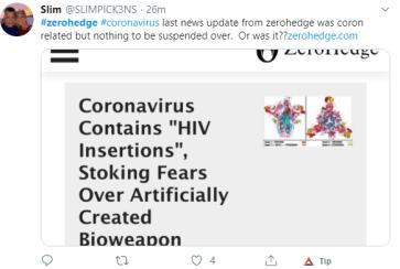 zerohedge coronavirus update