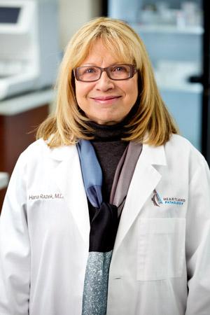 Dr  Hana Razek, M D  | Heartland Pathology