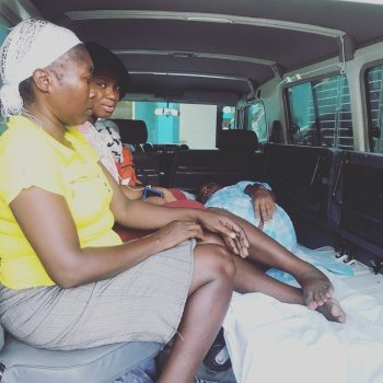 Transporting a mama-to-be to local hospital over the weekend