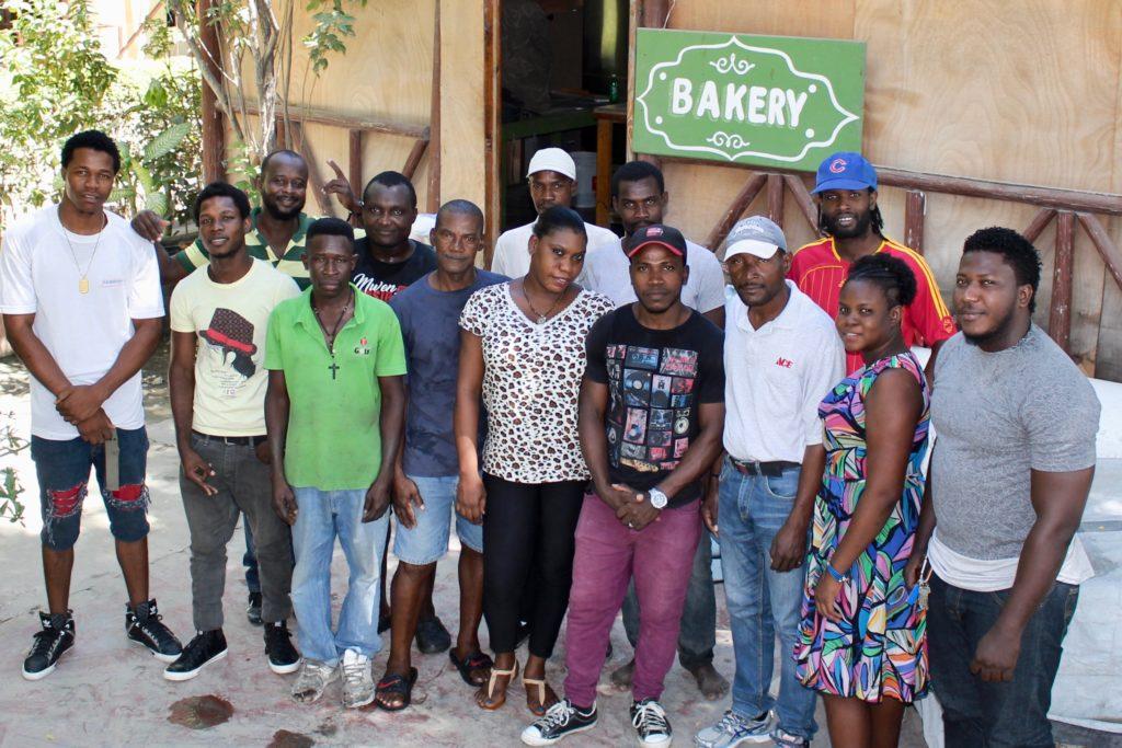 Heartline Haiti Beltis Bakery Staff Photo
