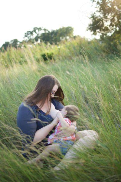 Outdoor Nursing Portraits In Maryland Heartlove