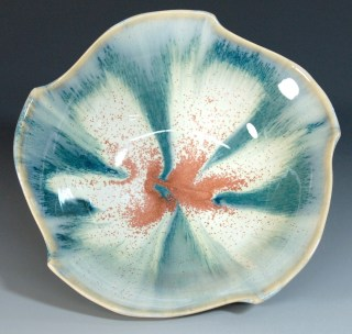 Seashell Altered Bowl
