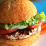 Hot and Spicy Turkey Burgers