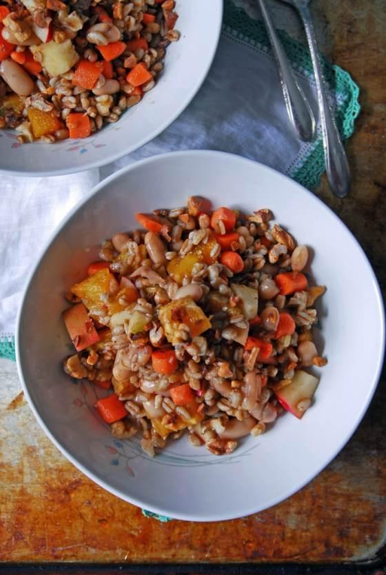 Autumn Harvest Farro Salad