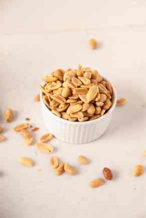 Vegan Peanut Butter + Nutella Bourbon Blondies //heartofabaker.com