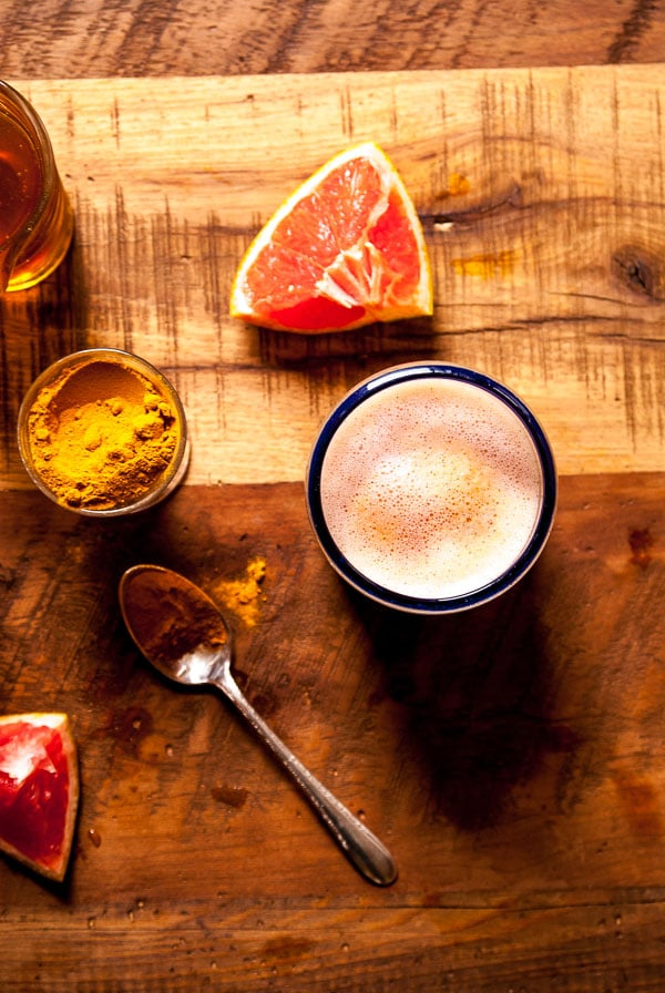 Turmeric and Citrus Smoothie
