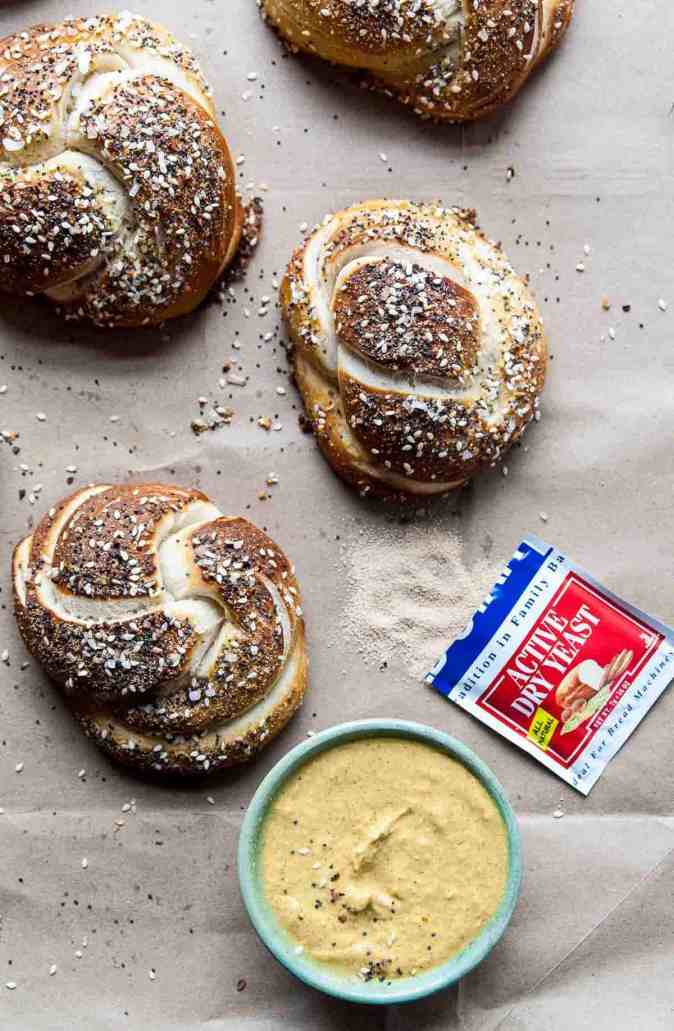 No Yeast Soft Pretzels Recipe