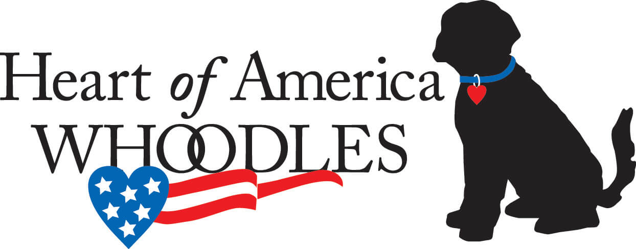Heart of American Whoodles Logo