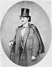 Omohundro, John baker, Texas Jack, dressed for the opera