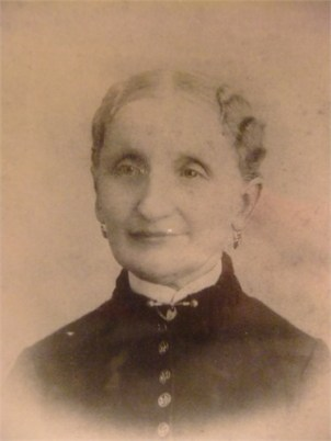 Louisa Voelkler, mother of Helen marie Voelkler, wife of Gustavus